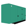 Cummins RS150 Quiet Connect™ Series 150kW Standby Power Generator (120/240V Single-Phase)