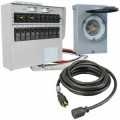 Reliance Controls 50-Amp (120/240V 10-Circuit) Power Transfer System