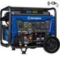 Westinghouse WGen5300DF - 5300 Watt Electric Start Dual-Fuel Portable Generator w/ Wireless Remote Start & RV Outlet (CARB)
