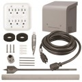 Reliance Controls 30-Amp Through-the-Wall Kit Power Panel System w/ 40' Cord