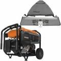 Generac GP8000E - 8000 Watt Electric Start Portable Generator (49-State) w/ GenTent® Stormbracer® Rain/Wet Weather Safety Canopy